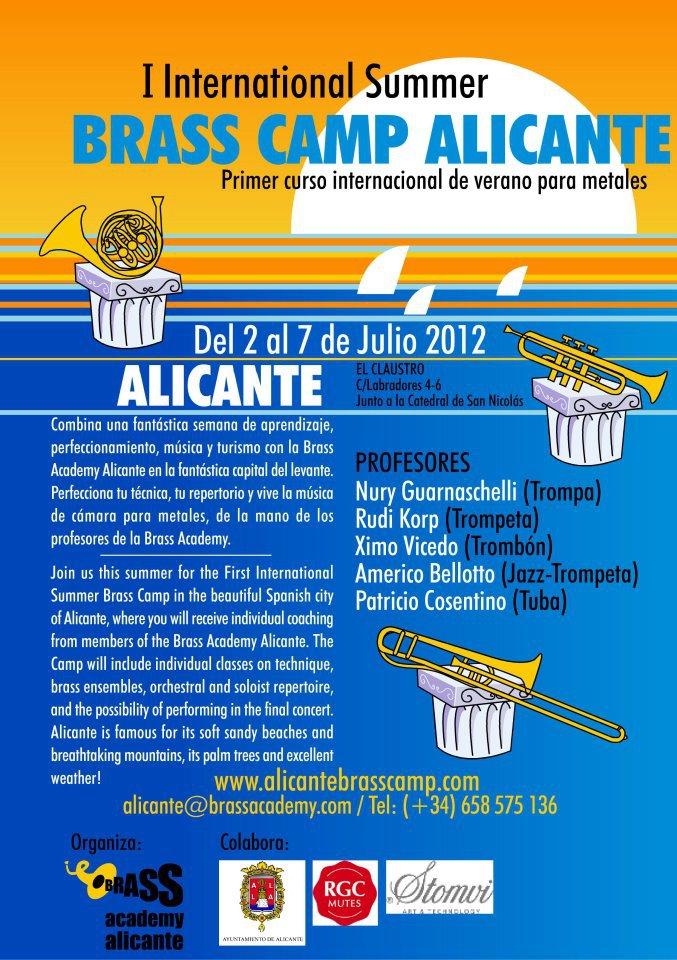 cartel 2012 curso